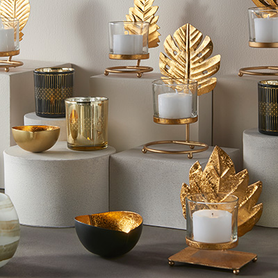 Votives & Candle Holders