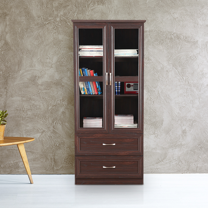Camilla Engineered Wood Book Shelf in Brown Colour by HomeTown
