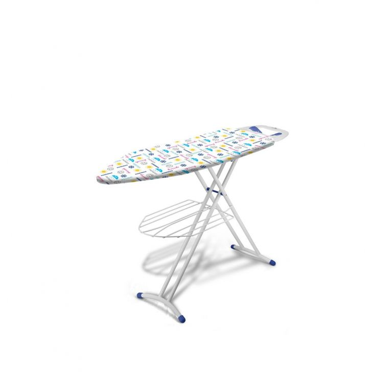 Bonita Powder Coated Steel Ironing Boards in White Colour by Bonita