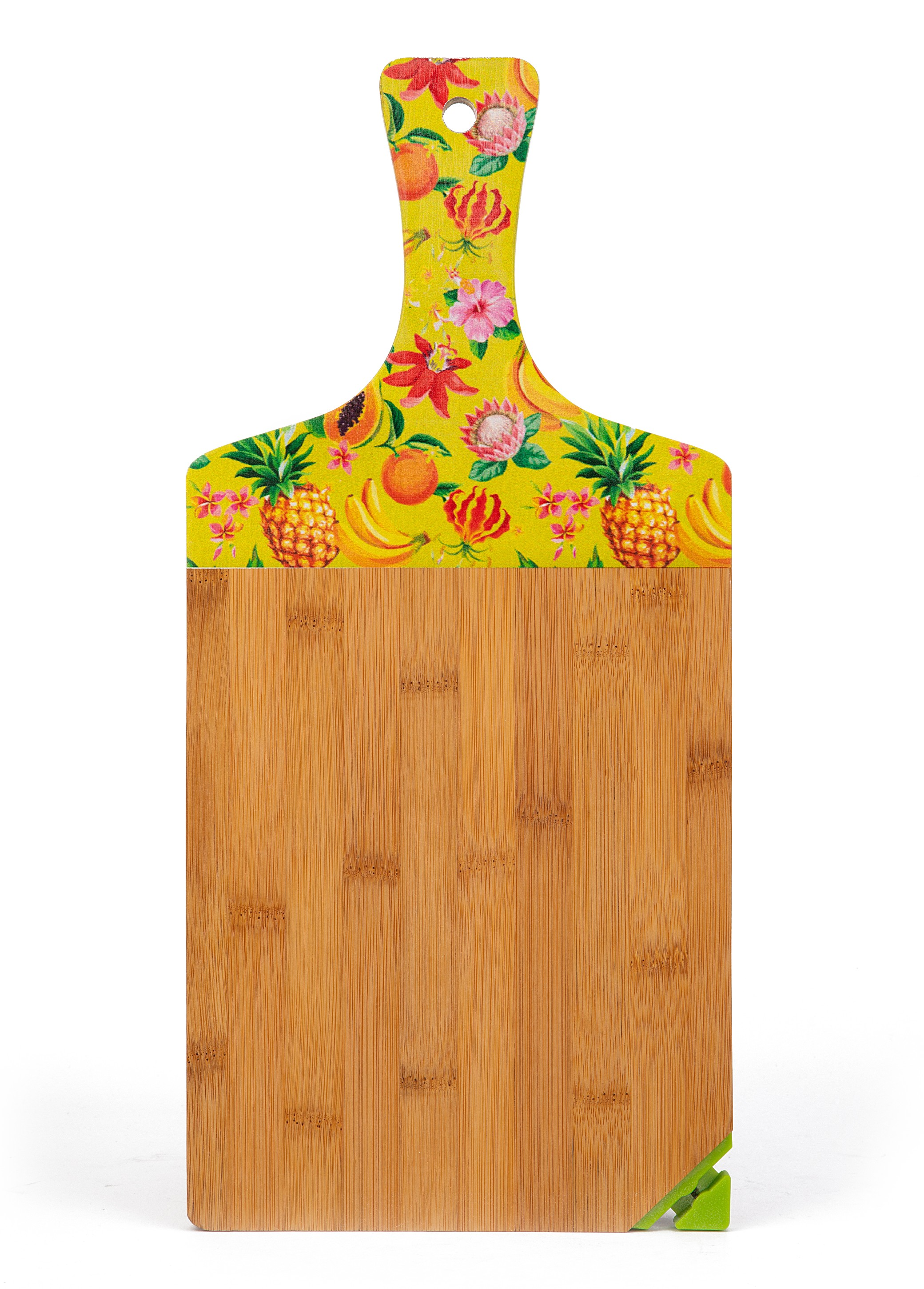 Ss17 Fruity Paddle Chopping Board Wood Chopping Boards in Multicolour Colour by Living Essence