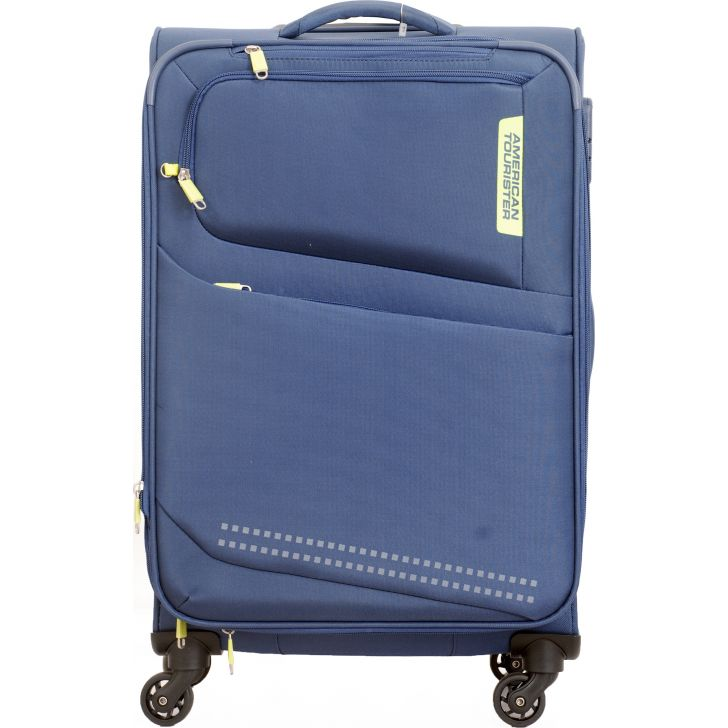 American Tourister Denton Soft Trolley 69 cm (Blue)