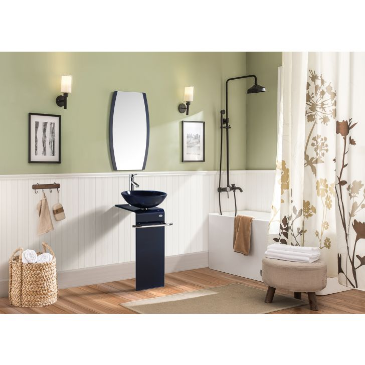 Flair Bath Vanity in Blue Colour by HomeTown