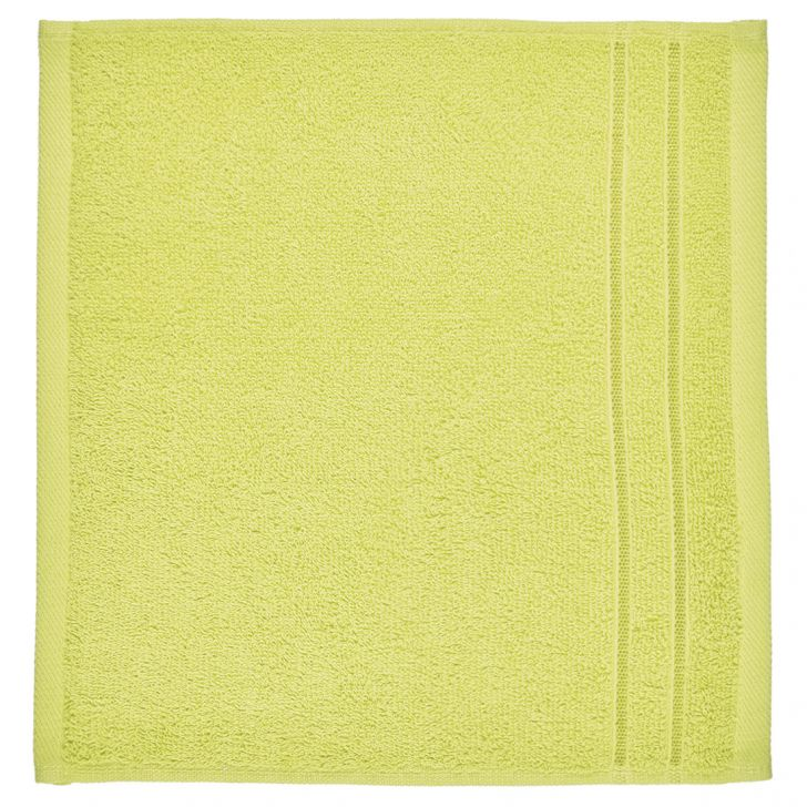 Face Towel Nora Citron Cotton Face Towels in Cotton Colour by Living Essence