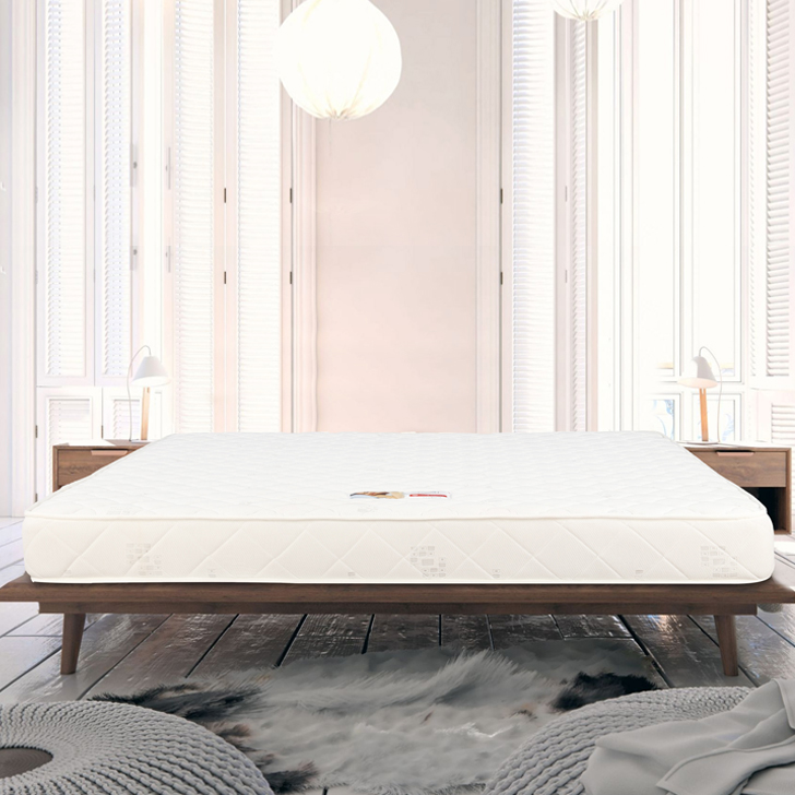 Majestic Pocket Spring Queen Bed Mattress (78*60*6) in Cream Colour by HomeTown