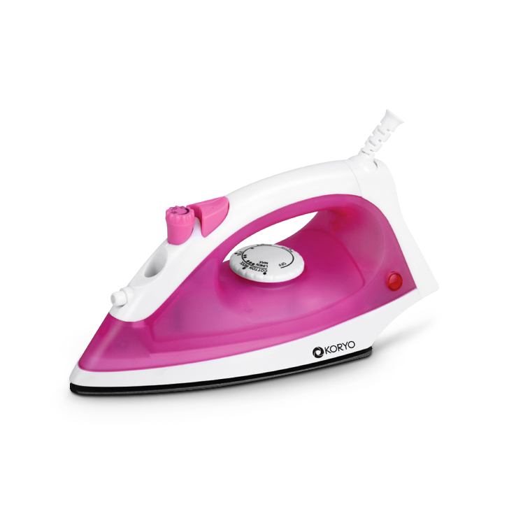 Steam Iron - Pink by Koryo