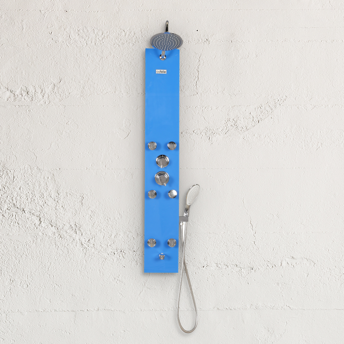 Della Shower Panel in Blue Colour by HomeTown