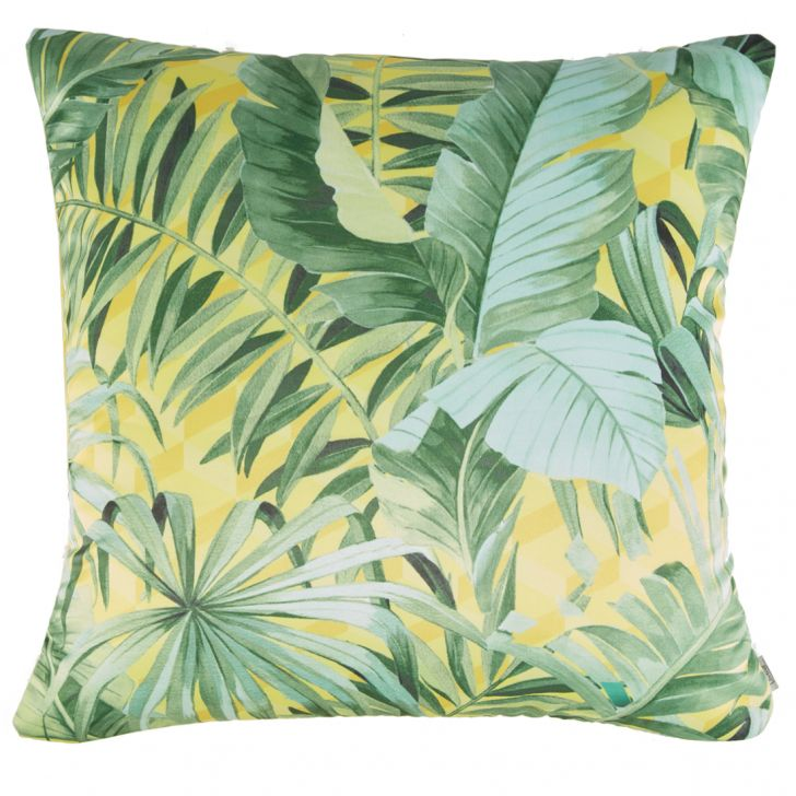 Digital Cushion Cover Palm
