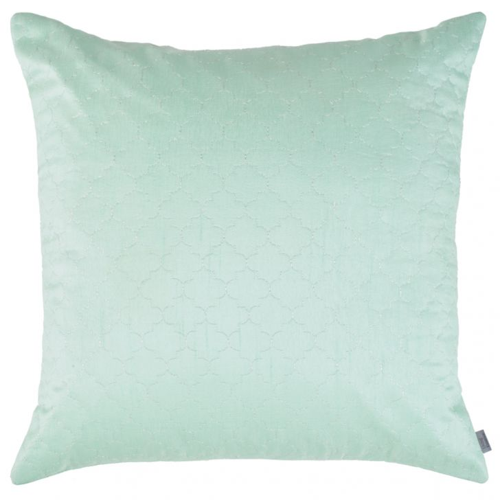 Blossom Polyester Cushion Covers in Mint Colour by Living Essence