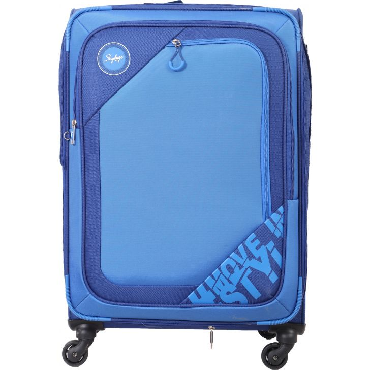 Skybags Zumba Lite 70 cm Soft Trolley (Royal Blue)