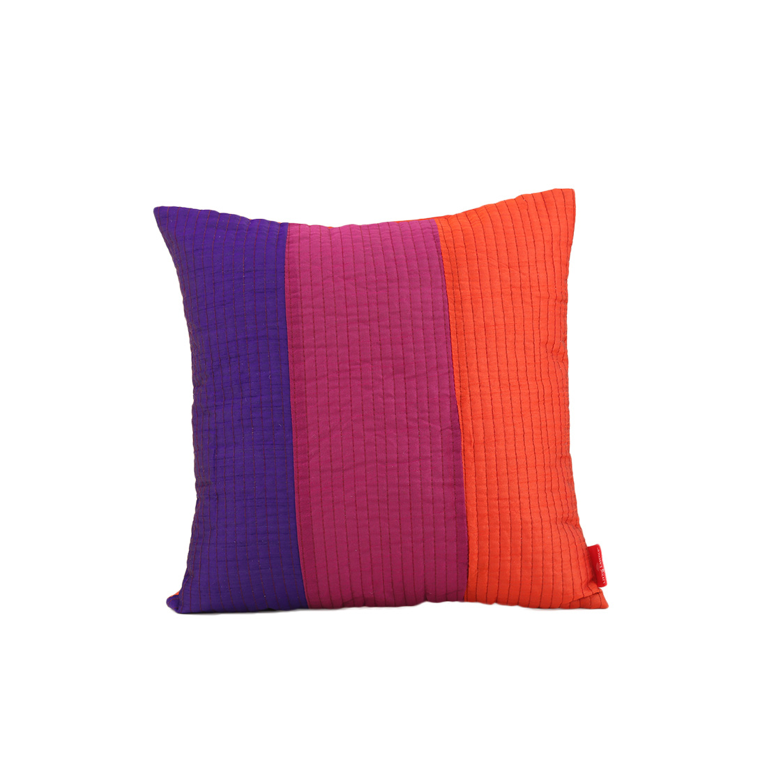 Fiesta Purple Polyester Cushion Covers in Purple Colour by Living Essence