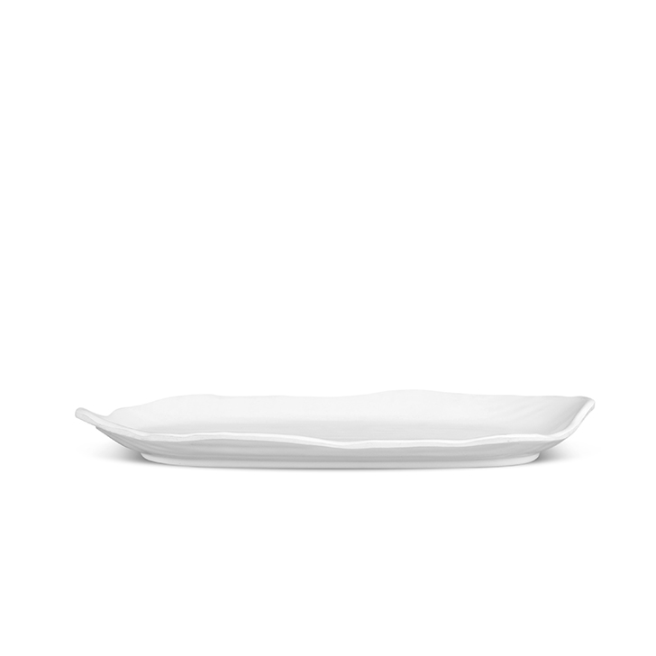 Living Essence Venice White Platter Small