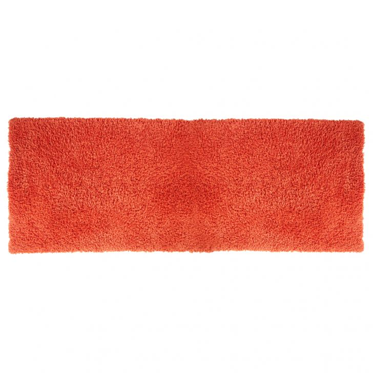 Nora Chenille Bath Mats in Rust Colour by Living Essence