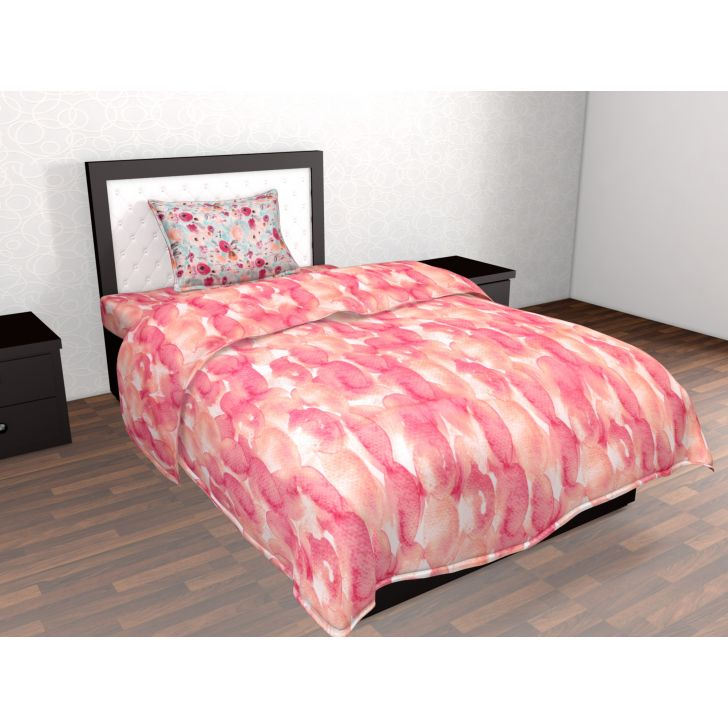 Epitome Cotton Single Bedsheet in Multicolor Colour by Trident