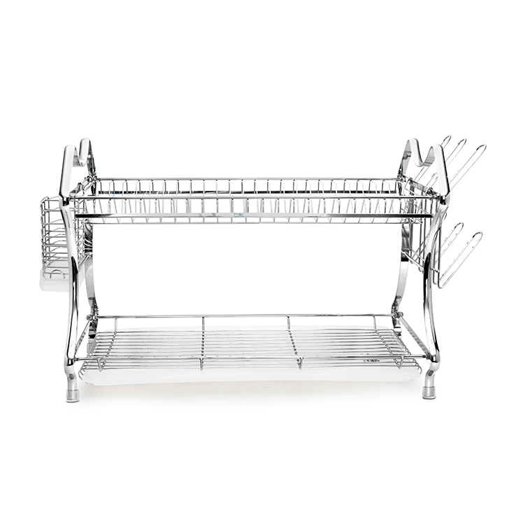 Stella Dish Drainer Stainless steel Others in Silver Colour by Living Essence