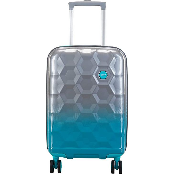 Fairway 80 cm Polycarbonate Hard Trolley in Blue Colour by VIP