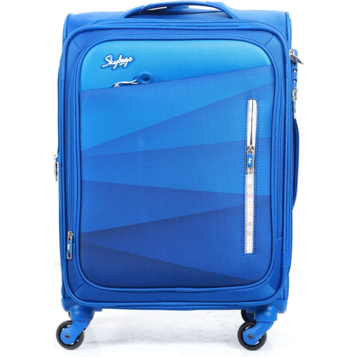 Skybags Reverb Soft Trolley 59 cm (Blue)