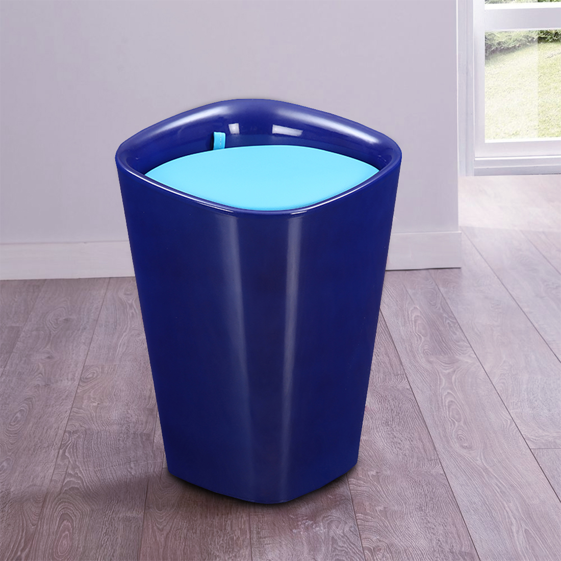 Ludo Stool in Blue Colour by HomeTown