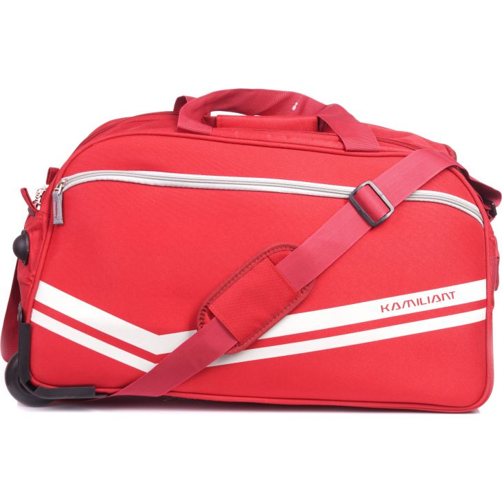 Kamiliant By American Tourister Zoro Wheen on Duffle 52 cm (Red)