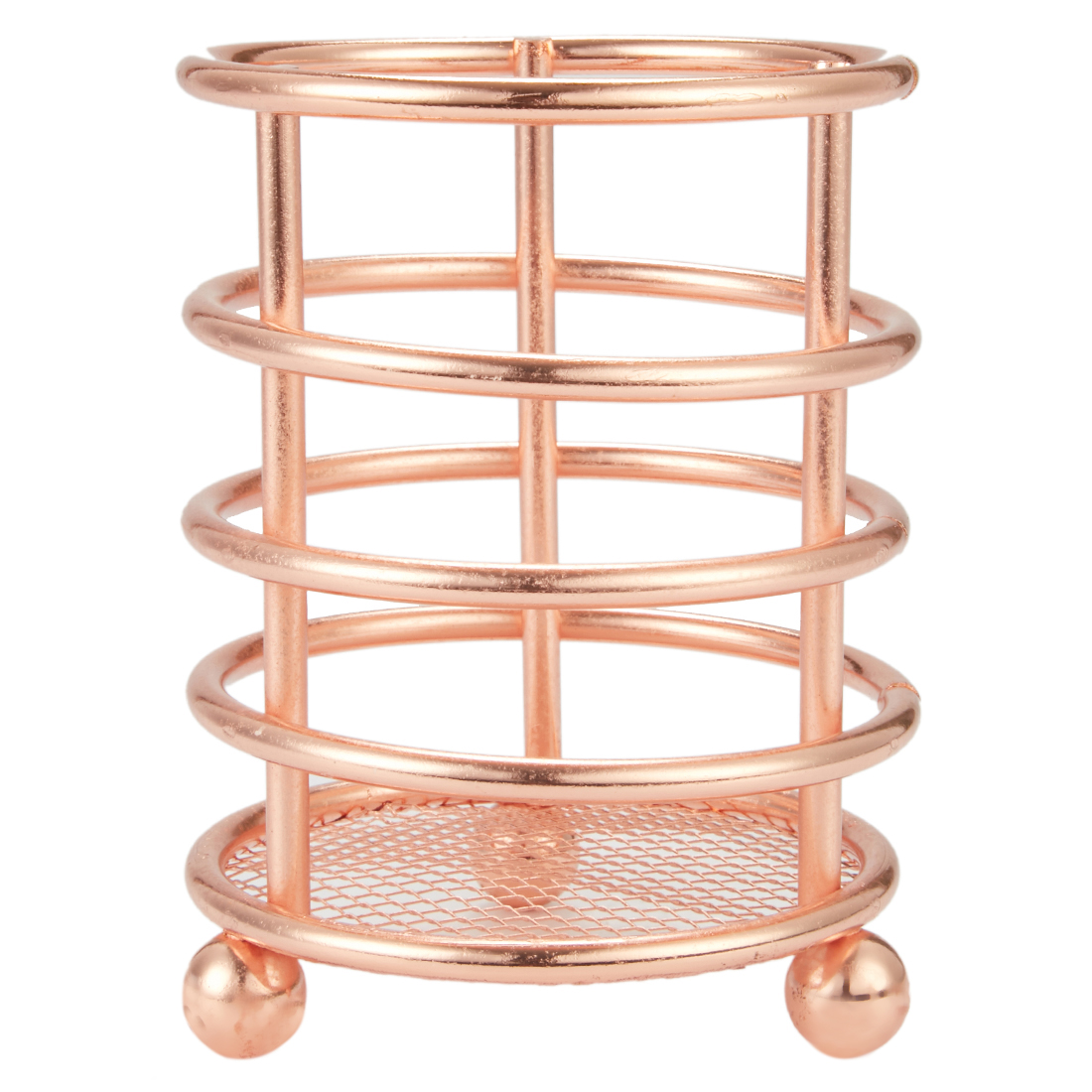 Cutlery Holder Holders in Copper Finish Colour by Living Essence