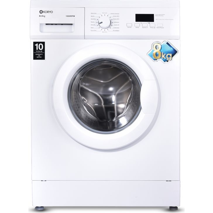 "Koryo KMW1480FL "" Washing Machine in White Colour by Koryo"
