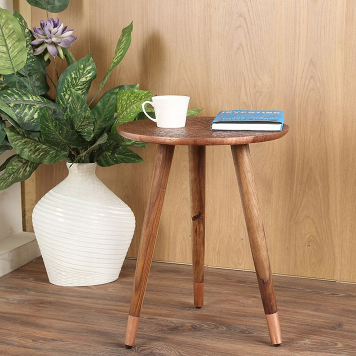 June Solid Wood Outdoor Table in Copper Colour by HomeTown
