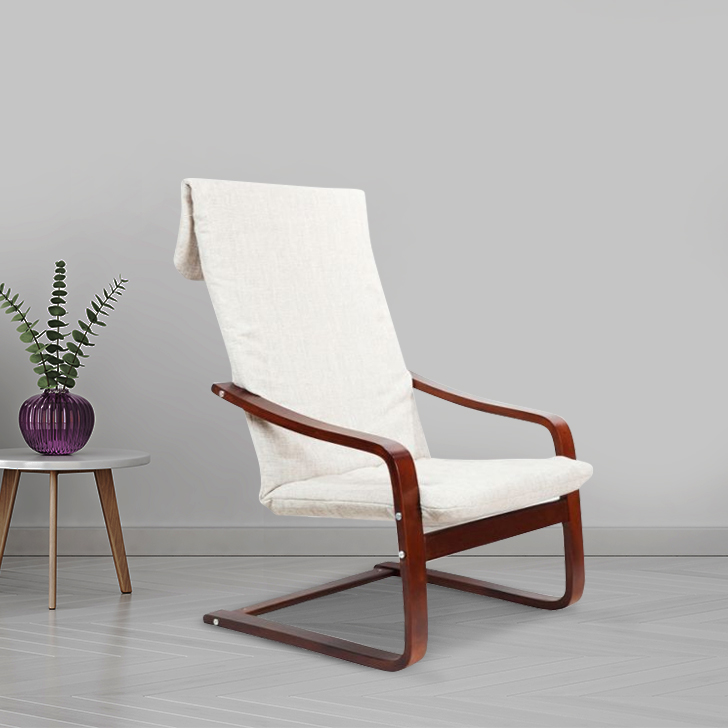 Nero Plywood Outdoor Chair in Beige Colour by HomeTown