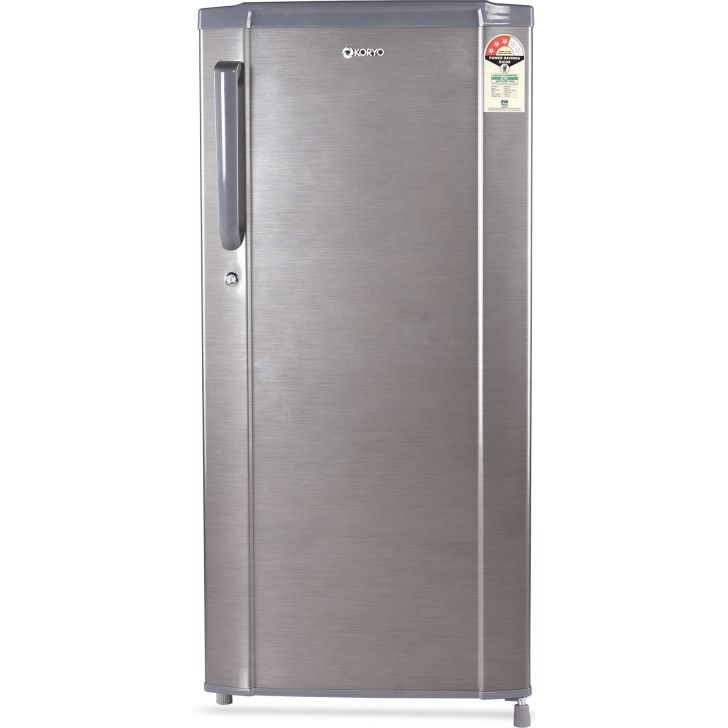 KDR250S3 Steel Refrigerator in Silver Colour by Koryo