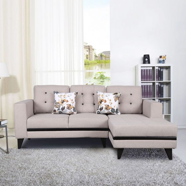 Garcia Fabric Lounger in Beige Colour by HomeTown