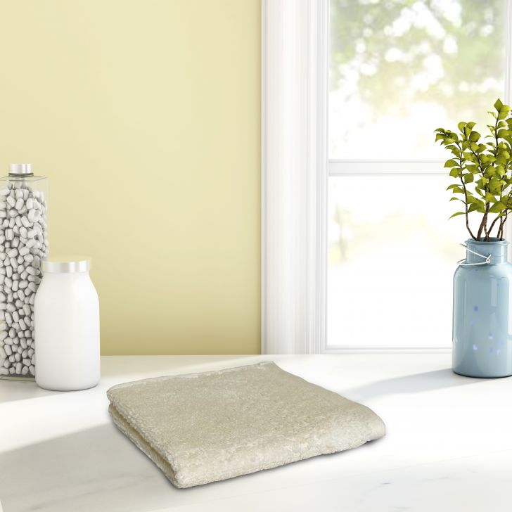 Spaces Cotton Face Towel in Pearl Colour by Spaces