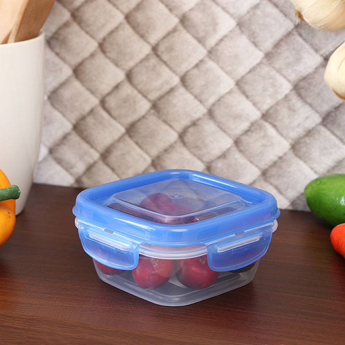 Living Essence Polypropylene Containers in Transparent Colour by Lock & Lock