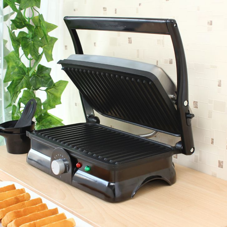 Wonderchef Super TandoorStandard Size by Chef Sanjeev Kapoor Stainless steel Toasters & Sandwich Makers in Black Colour by Wonderchef