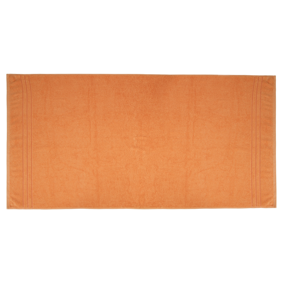 Bath Towel Nora Mustard Cotton Bath Towels in Mustard Colour by Living Essence