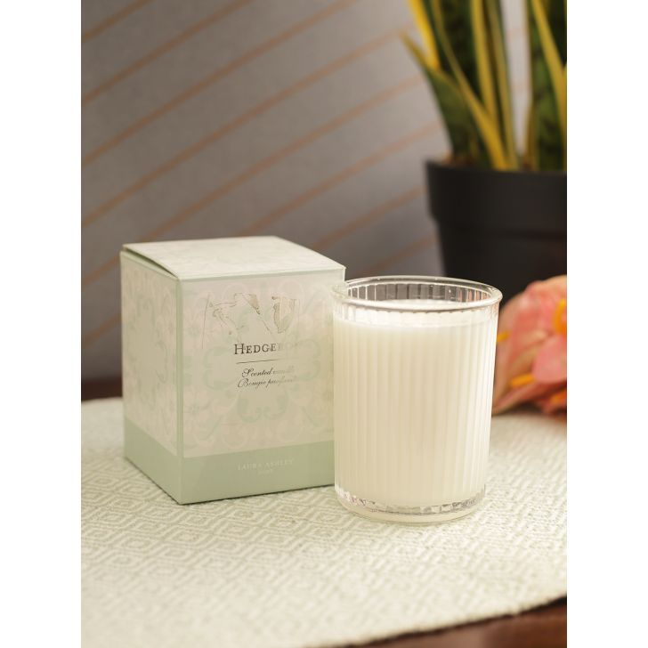 Laura Ashley Wax Box Candle Hedgegrow by Living Essence