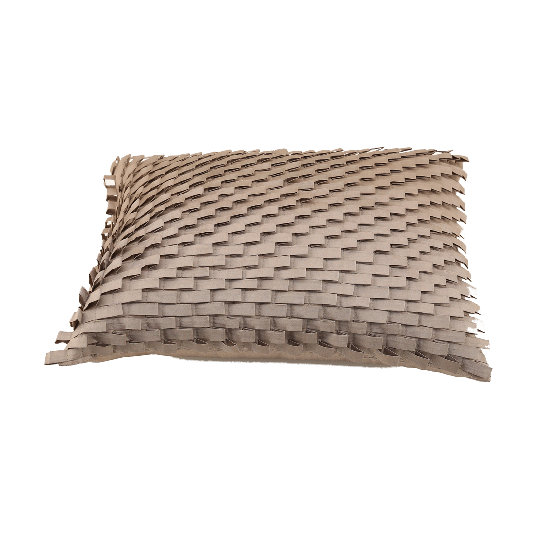 Sedona Taupe Polyester Cushion Covers in Taupe Colour by Living Essence