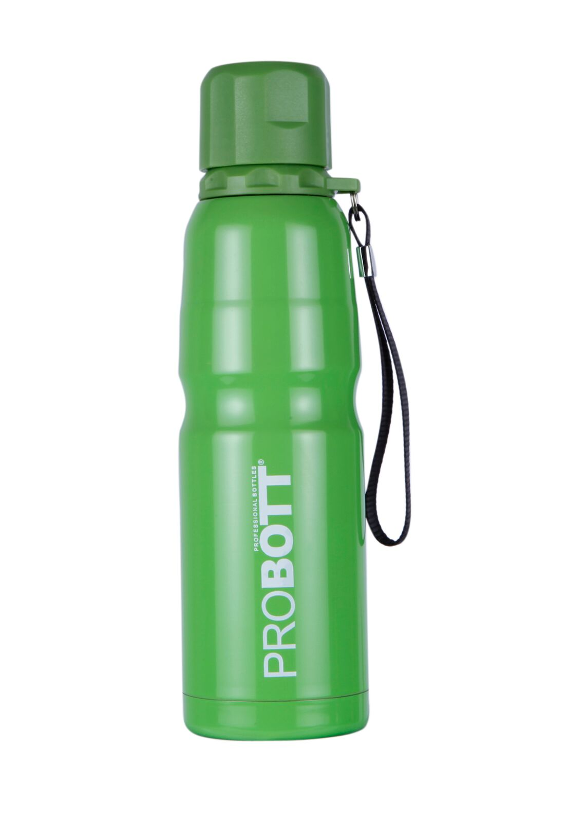 Probott Sport Bottle 500 Ml With Sling Stainless steel Thermoware in Blue / Pink / Green / Dark Green Colour by Probott