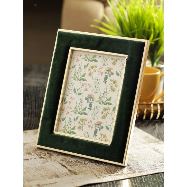 Vista Plastic Photo Frame in Green Colour by HomeTown