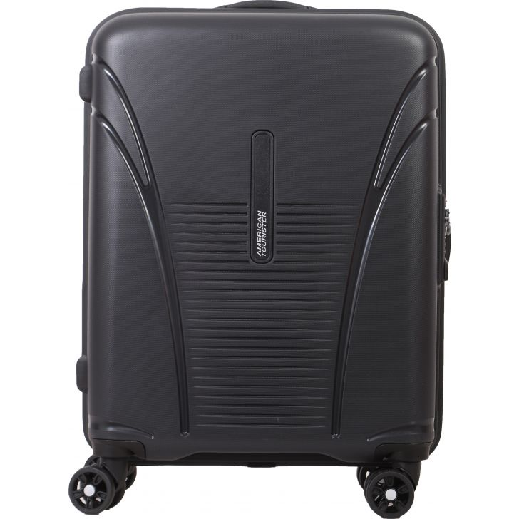 American Tourister Skytracer Plus Spinner 55 CM Hard Trolley (Grey)