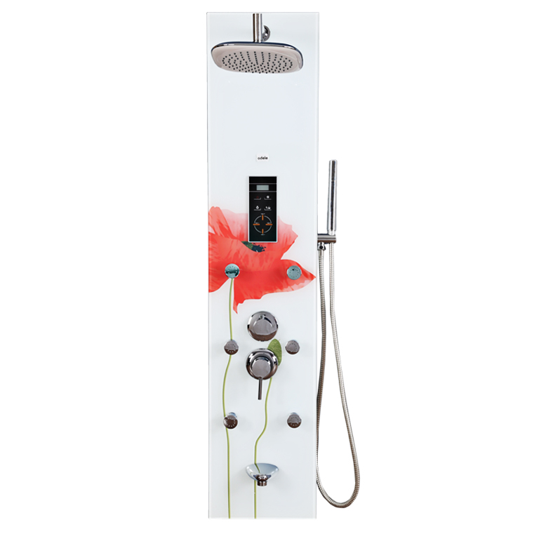 Splendid Glass Shower Multifunctions in White Colour by HomeTown
