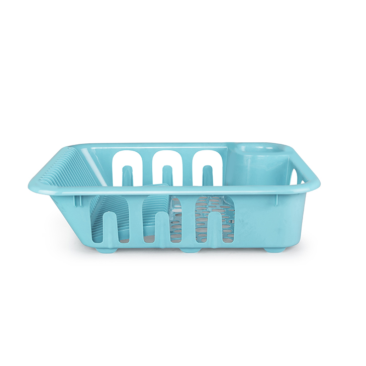 Living Essence Dish Drainer Teal