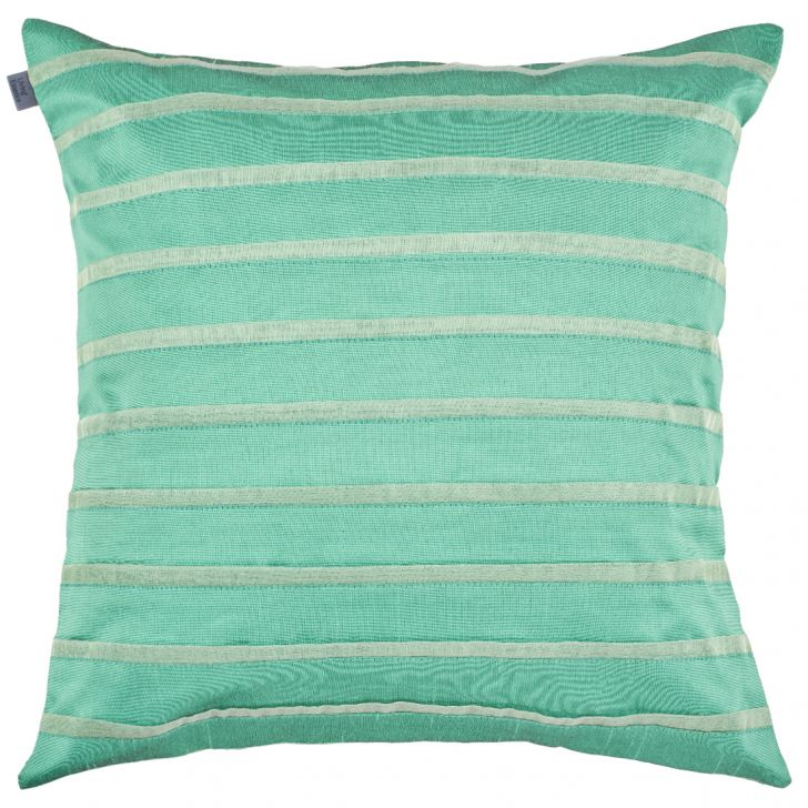 Michelle Polyester Cushion Covers in Mint Colour by Living Essence