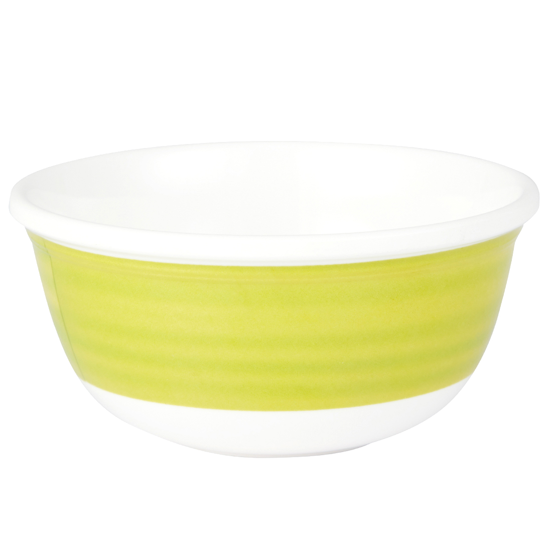 Urmi Bamboo Palm Leaf Veg Bowl Serving Bowls in White Colour by Living Essence