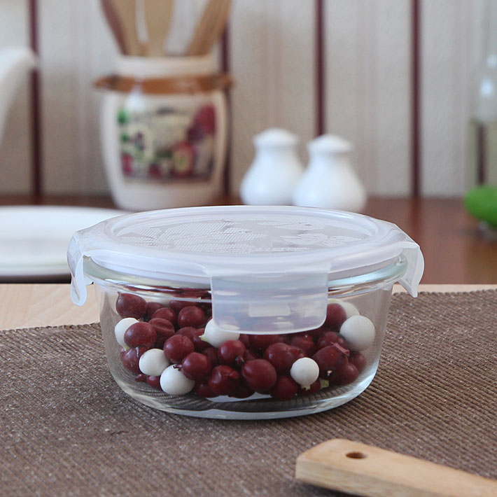 Lock & Lock Transparent Heat Resistant Containers Glass Containers in Transparent Colour by Lock & Lock