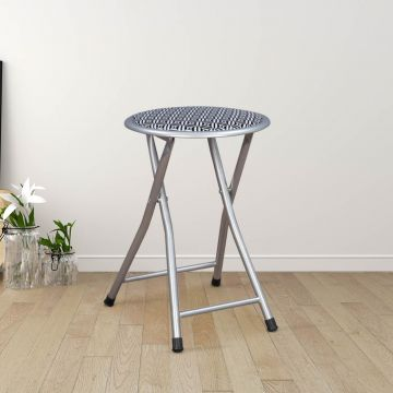 Awesome Evan Metal Folding Chair In Black Colour By Hometown Caraccident5 Cool Chair Designs And Ideas Caraccident5Info