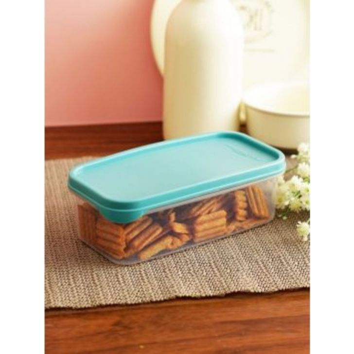 Modular Mate Stackable Plastic Rectangle Container 800 Ml by Living Essence