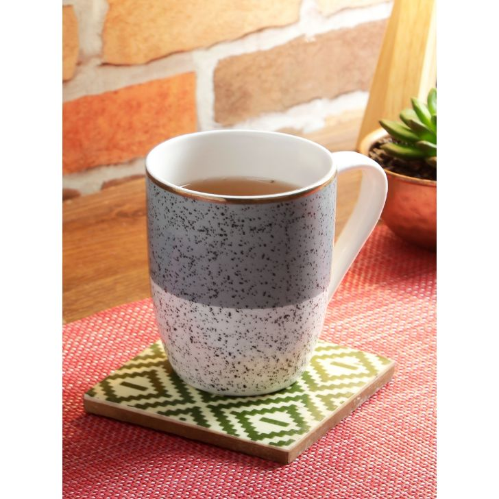 Living Essence Bone China Mug in Multicolor Colour by Living Essence
