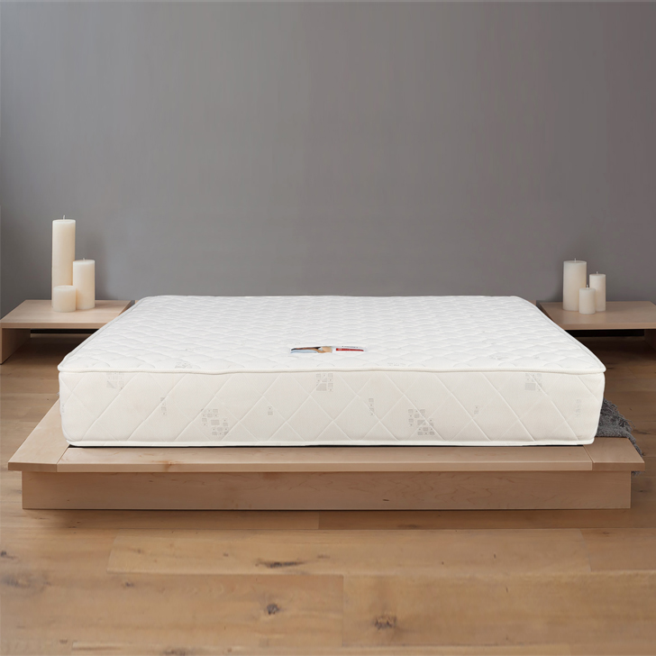 Comfort Pocket Spring Queen Bed Mattress (78*60*8) in Cream Colour by HomeTown