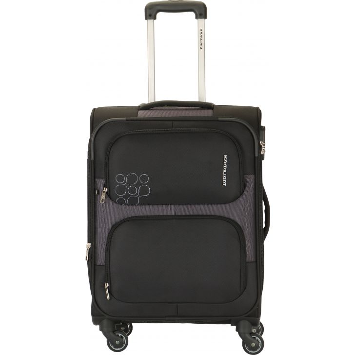 Kamiliant by American Tourister Monza 81 cm Soft Trolley (Black)