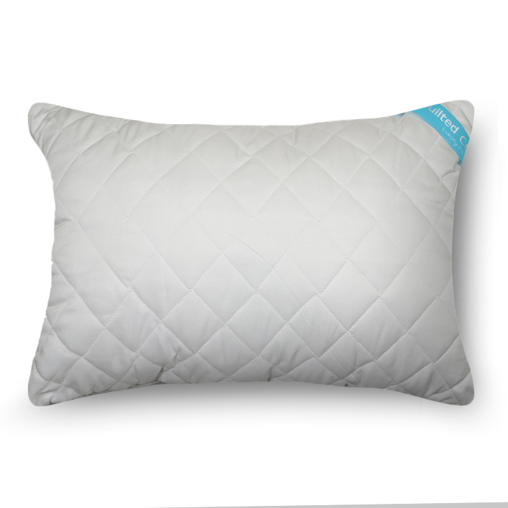 Micro Polyester Pillow White Micro Polyester Fibre Pillows in White Colour by Living Essence