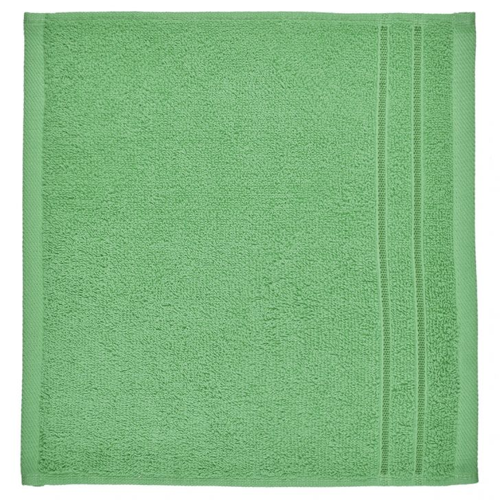 Face Towel Nora Olive Cotton Face Towels in Cotton Colour by Living Essence