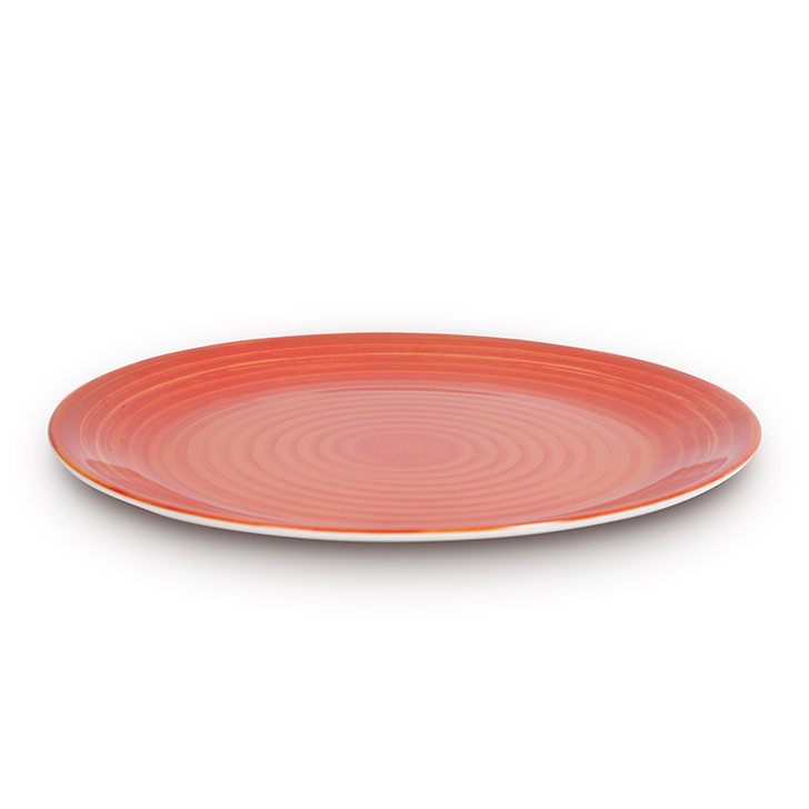 Living Essence Food Grade Melamine Plates in Copper Colour by Living Essence